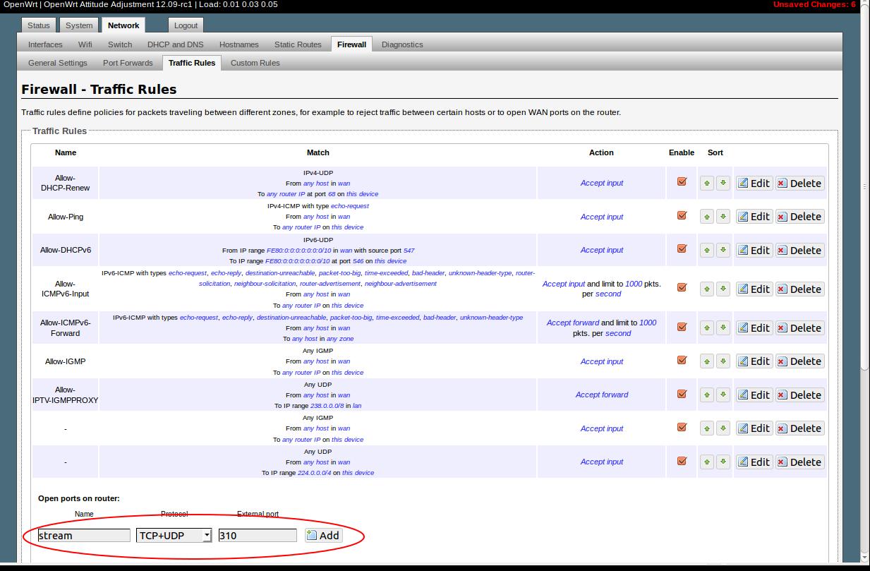 Подключение веб-камеры в openwrt