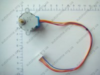 5V-4-Phase-28YBJ-48-DC-Gear-Step-front