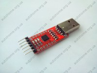 Адаптер USB-to-UART CP2102 6PIN